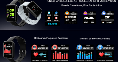 Lintelek, la smartwatch multi fonctions